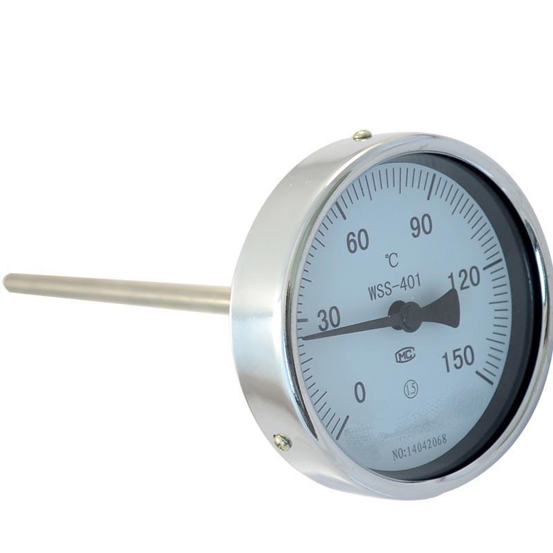 MIK-WSS-401轴向不锈钢双金属温度计