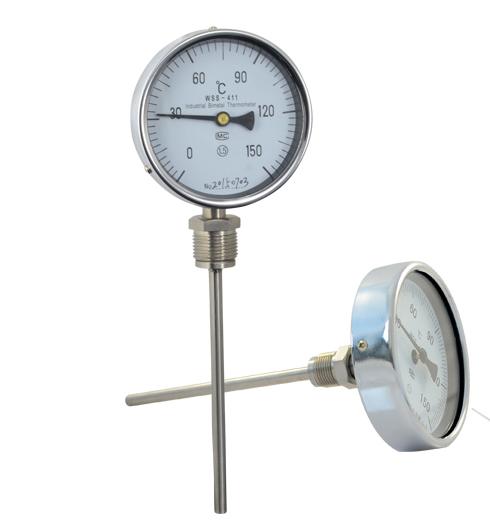 MIK-WSS-411径向不锈钢双金属温度计