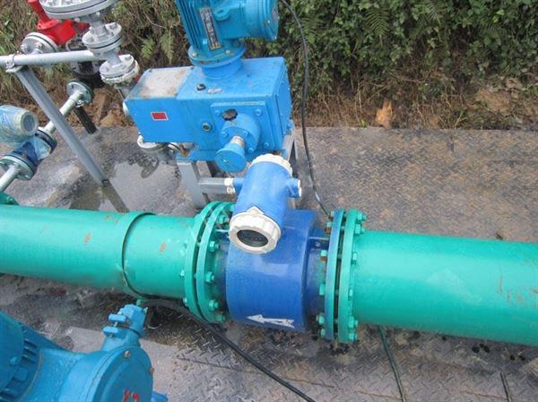 DN150污水电磁vwin德赢AC米兰的应用